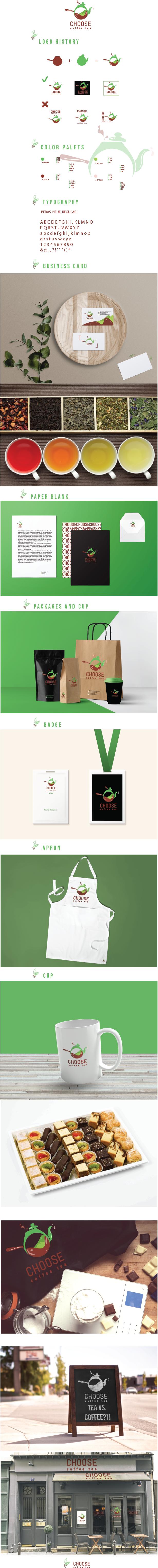 coffee tea brandbook