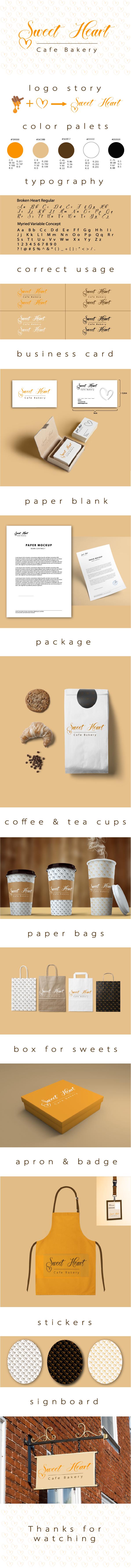 Sweet Heart brandbook